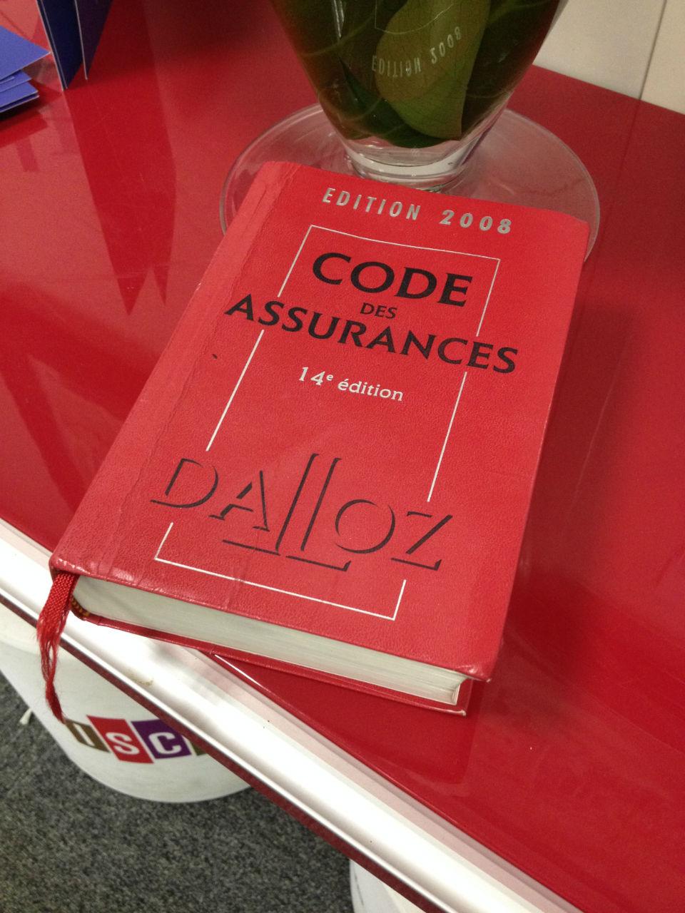 Connaitre le code des assurances, la garantie d'une meilleure connaissance du secteur