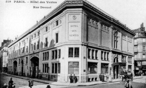 L'hôtel des ventes à Paris, un bâtiment emblématique